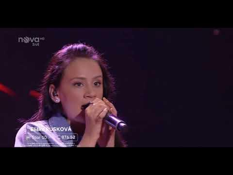 Eliška Rusková - Toužím, Third FINAL of the Czech Superstar 2018