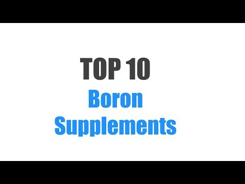 Best Boron Supplements - Top 10 Ranked