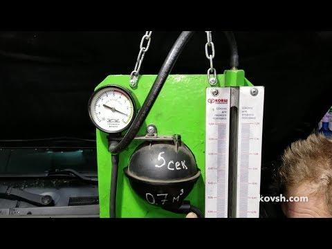 Прибор для проверки вакуумной системы автомобиля