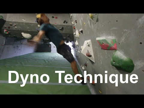 How To Dyno 101 - Climbing For Beginners