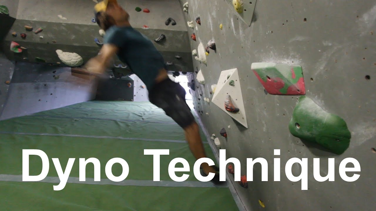 Video Youtube How to dyno 101 - Climbing for beginners