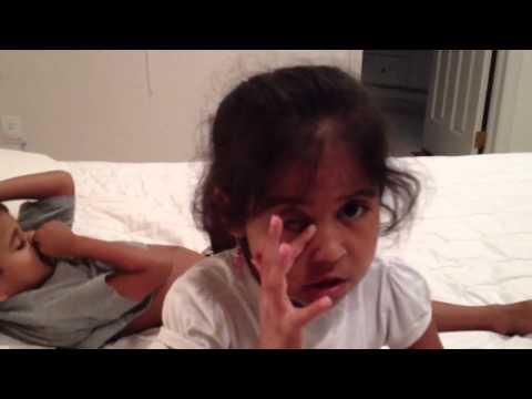 Riyana singing Chalo