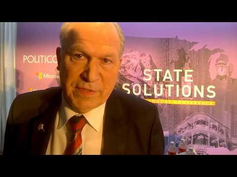 BBN interviews Alaska Governor Bill Walker on Ted Stevens Airport #STATESOLUTIONS