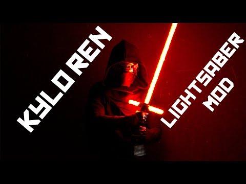 DIY Kylo Ren Fiery Lightsaber Mod