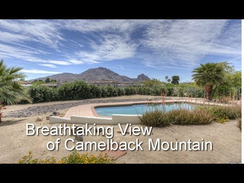 Mountain View Camelback and Mummy Paradise Valley Home For Sale