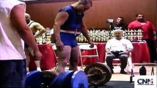 John D. Villarreal's 600lb Deadlift attempt @ 198lbs at 2002 APF Iron Man Powerlifting Competition