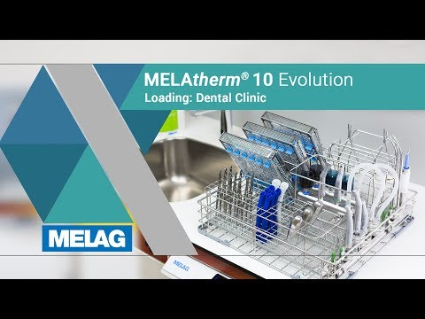 Loading Washer-disinfector In Dental Clinics | MELAG MELAtherm 10 Evolution Tutorial