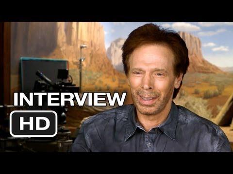 The Lone Ranger Interview - Jerry Bruckheimer (2013) - Johnny Depp, Armie Hammer Western HD