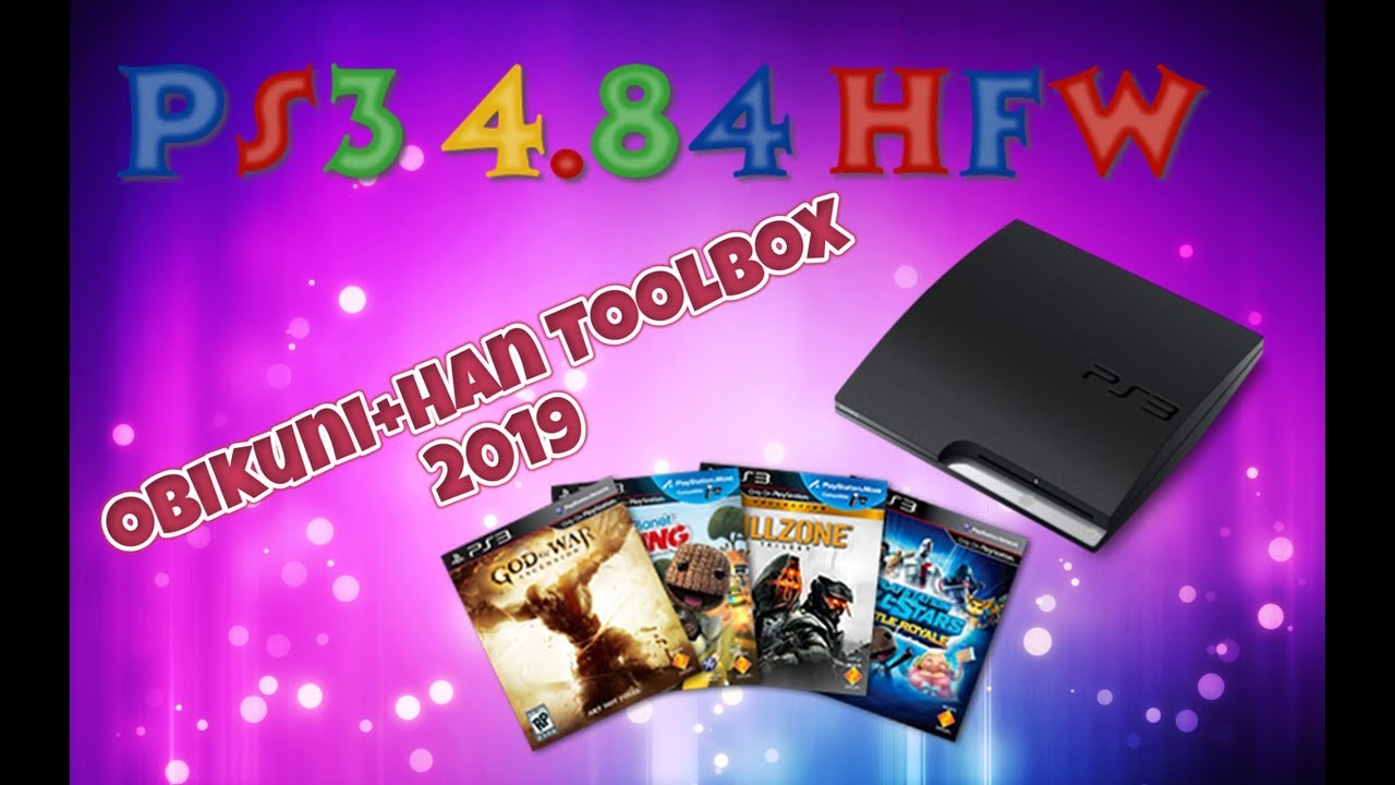FreeShop HAN Toolbox MOD All PS3 OFW (Super Slim / Slim / FAT by