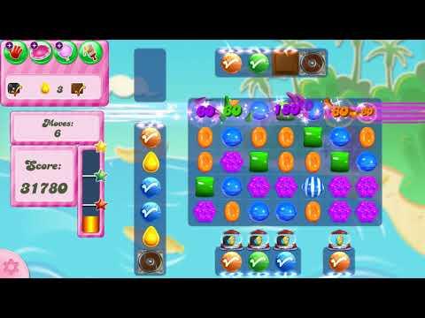Candy Crush Saga Level 2972 NO BOOSTERS
