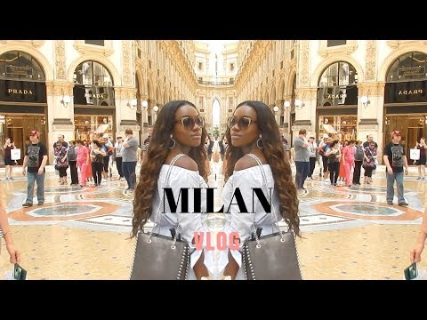 3 DAYS IN MILAN | LUXURY SHOPPING & SIGHTSEEING | Jade Vanriel