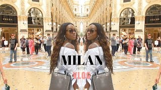 3 DAYS IN MILAN | LUXURY SHOPPING & EXPLORING | Jade Vanriel