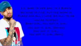 Chris Brown - No Guidance (Lyrics) Ft. Drake