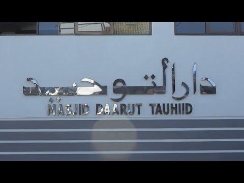 Perjalanan Haji Tanajul KBIH Daarut Tauhid Kelompok IV 1424 H. Berjalan kaki dari Masjidil Haram ke .