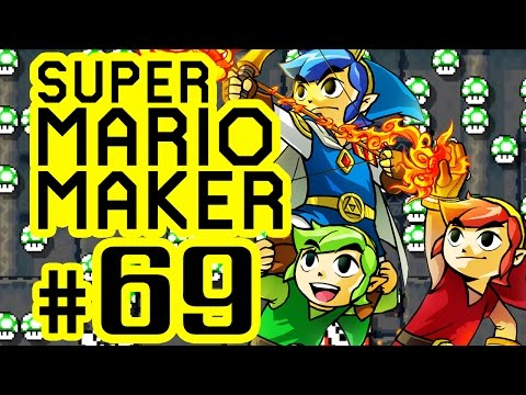 SUPER MARIO MAKER # 69 ★ 100-Mario-Challenge auf Schwer! [HD | 60fps] Let's Play Super Mario Maker