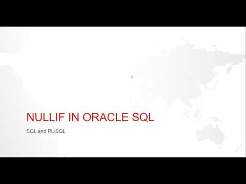 NULLIF FUNCTION IN ORACLE SQL WITH EXAMPLE