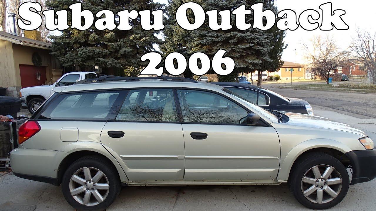 Subaru Outback 2006 Youtube