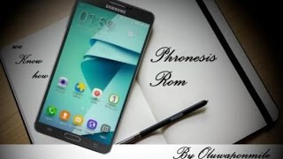 Phronesis Rom N7 v3.1 auf Samsung Galaxy Note 3