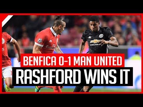 BENFICA 0-1 MAN UNITED | REVIEW | AWFUL GAME SAVED BY RASHFORD