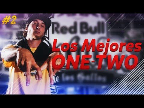 LOS MEJORES ONE-TWO #2 | Freestyle Rap (Multisilábicas) [Batallas de Gallos] + SUBTITULOS