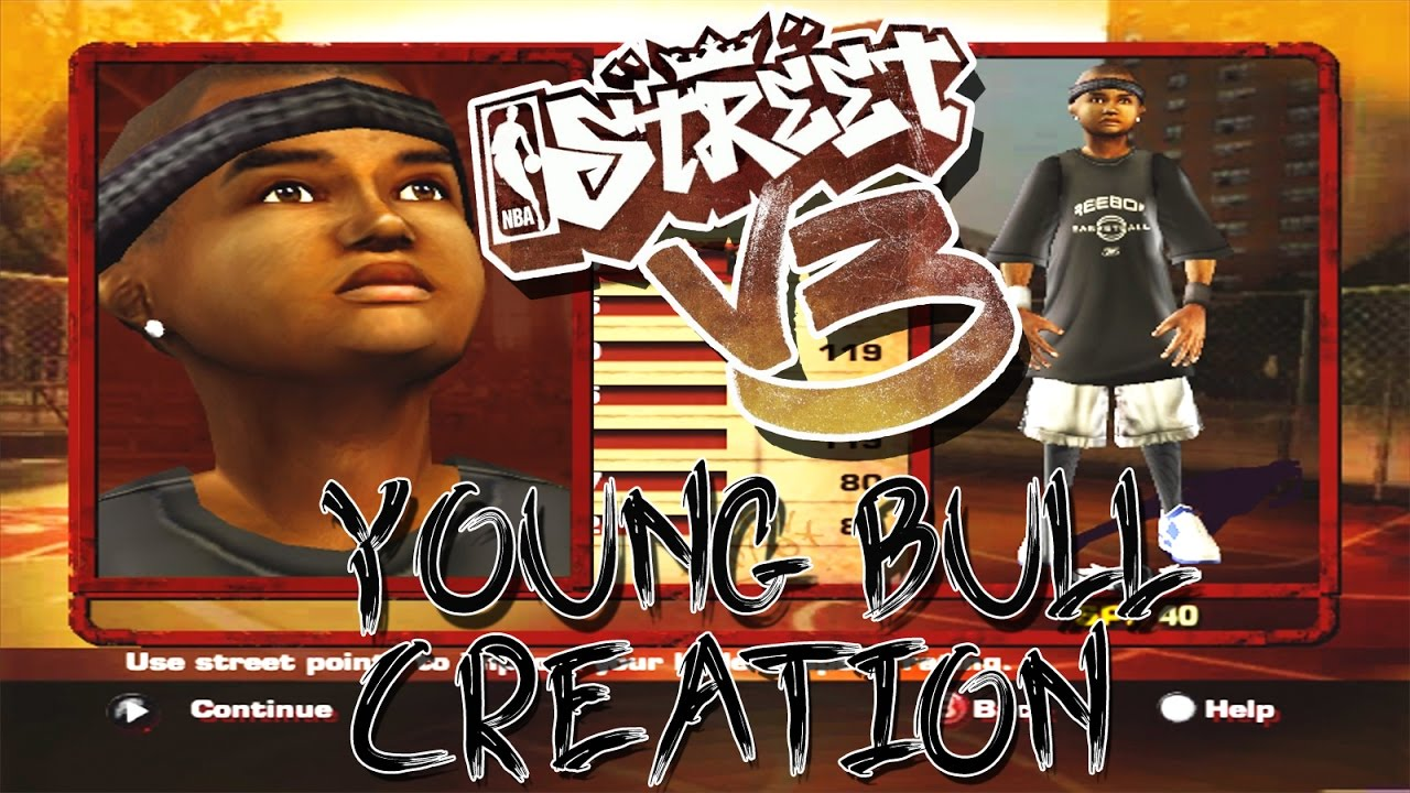 Download NBA Street V3 2017 🏀 HD   ⛹🏽 Young Bull Creation & 1st Game! Ep.1   EA Bring Back NBA Street 🙏🏽
