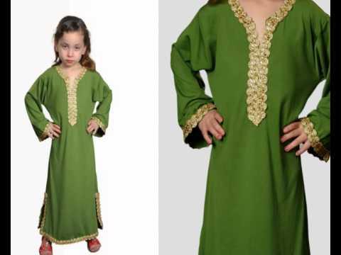 Egypt Bazar Online Shop präsentiert Arabische Kinder Kleider Kaftan aus dem Orient