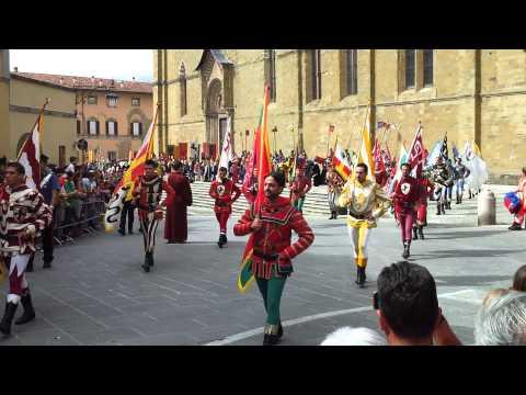 Medieval Festival in Arezzo