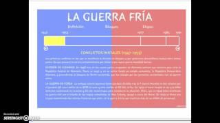 FLIPPED BLOQUE V Apartado 5.2.2 PRIMERA ETAPA GUERRA FRÍA 1947-53