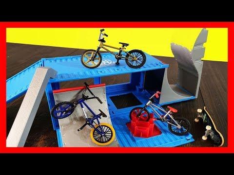 Tech Deck Bike Toys R Us Exclusive Series Bicycle Flick Trix Street Tricks
