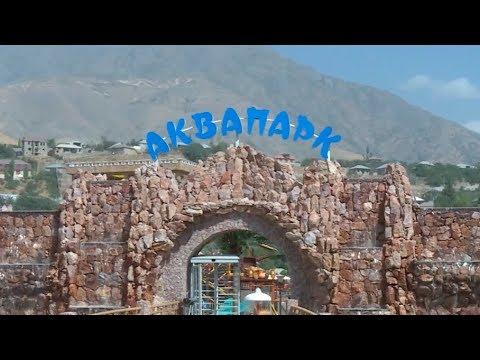 Рахмон открыл новый аквапарк в Душанбе
