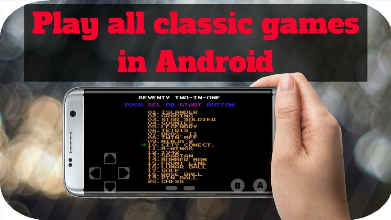 Play all classic games in Android | 72 in 1 apk | nes games