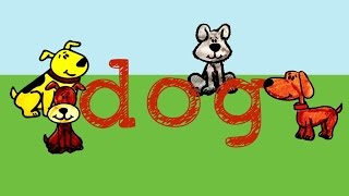 Dog- song to teach the sight word