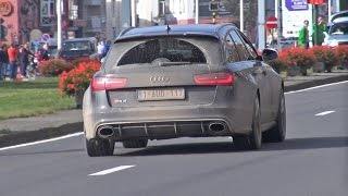 Audi RS6 Avant C7 / RS7 Sportback / RS5 B8 - Amazing Fast Acceleration!