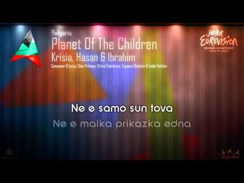 "Krisia, Hasan & Ibrahim - ""Planet Of The Children"" (Bulgaria) - [Instrumental version]"