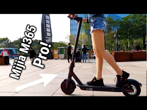 Xiaomi Mijia M365 Electric Scooter Pro Review - YouTube