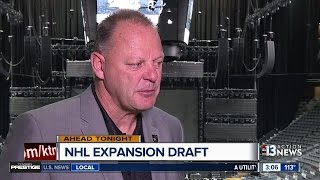 Gerard Gallant talks about NHL Expansion Draft
