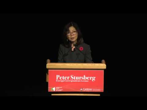 Peter Stursberg Foreign Correspondents Lecture