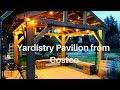 Costco 12X14 Yardistry Pavilion helpful tips | How to DIY Costco Pavilion Gazebo Pergola