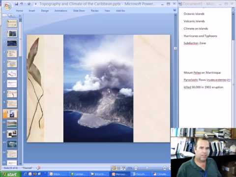 BIOL2462 Caribbean Island Ecology Geology and Topography of the Lesser Antilles