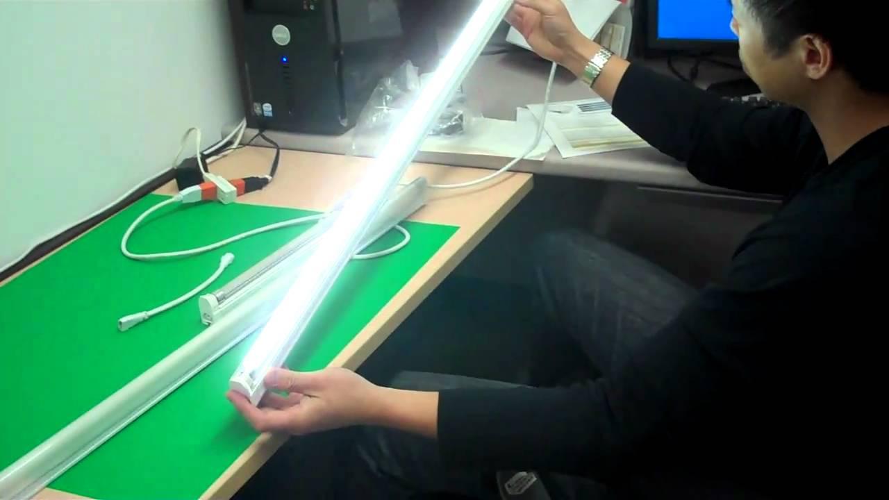 Savio Lighting Linkable T5 LED  YouTube