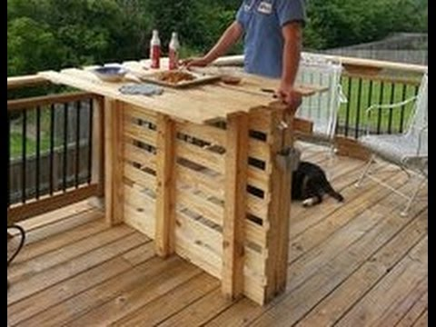 outdoor deck furniture ideas pallet home. DIY Outdoor Pallet Bar Ideas. Awesome Home Decor Deck Furniture Ideas D
