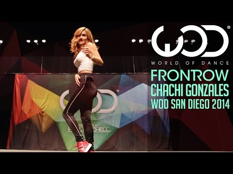 Chachi Gonzales  FRONTROW  World of Dance San Diego 2014 WODSD