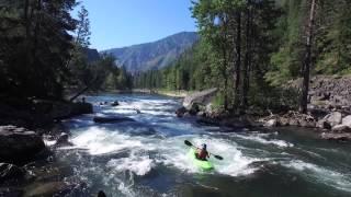 Whitewater Kayaking Tumwater Canyon