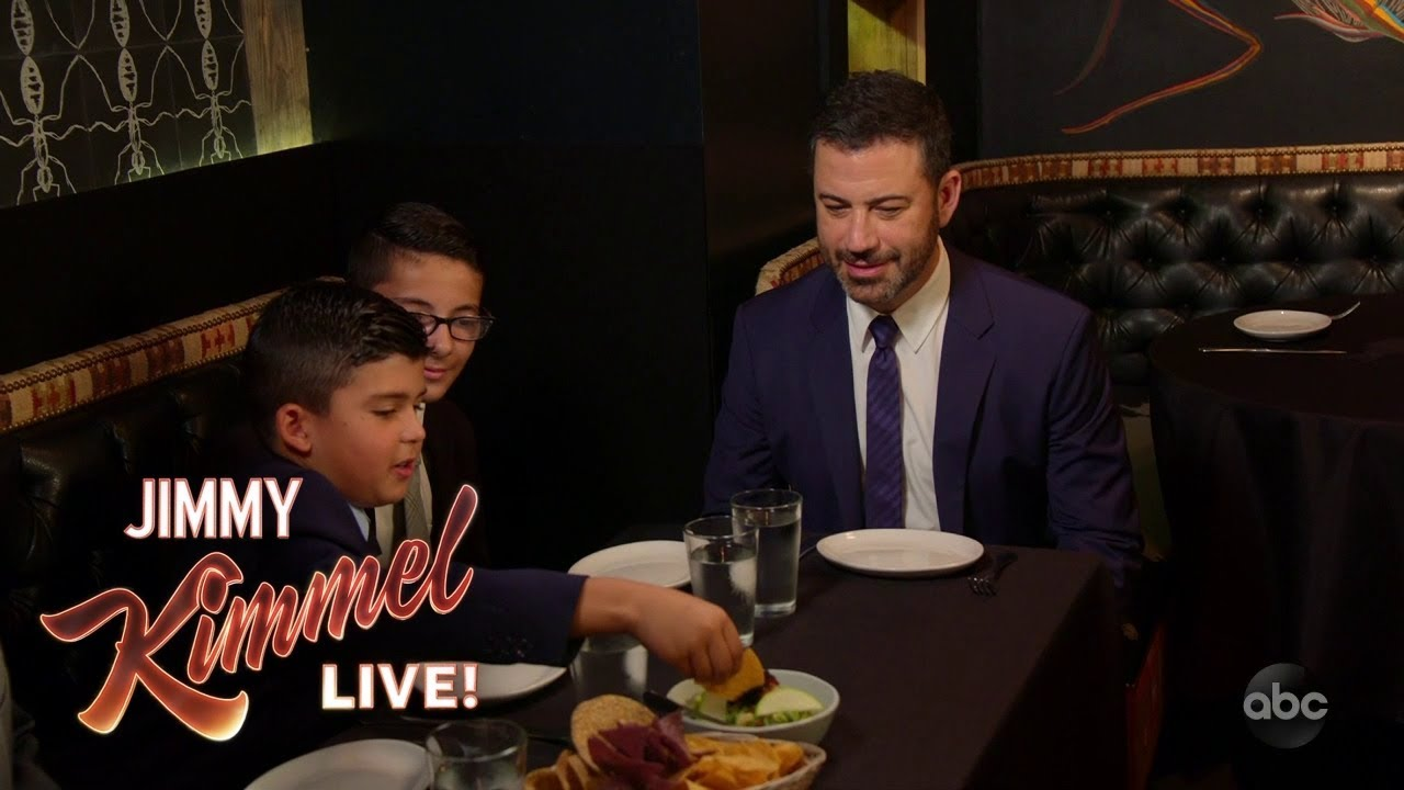 jimmy-kimmel-and-his-nephews-eat-bugs-at-the-black-ant-in-nyc