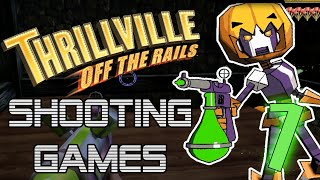 Thrillville: Off The Rails Shooting Minigames! (Part 1) | DanRock Productions