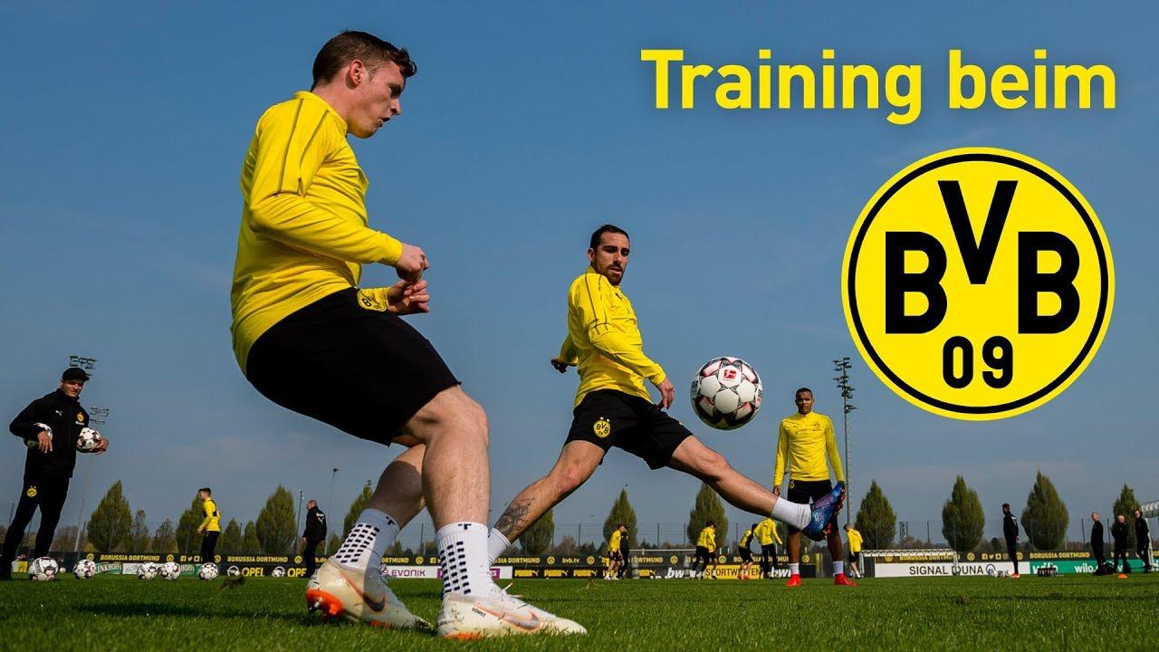 Voller Fokus aufs Mainz-Spiel |Training bei Borussia Dortmund
