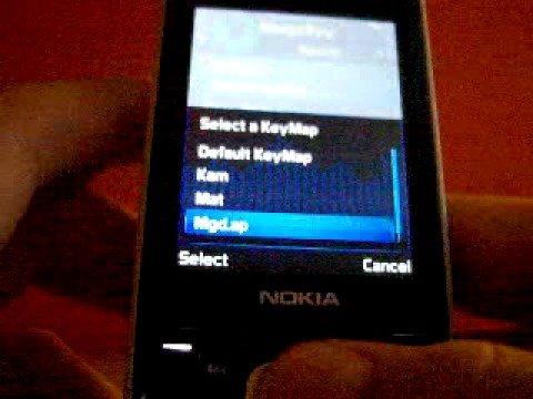 Nokia N81 landscape (MagicKey)