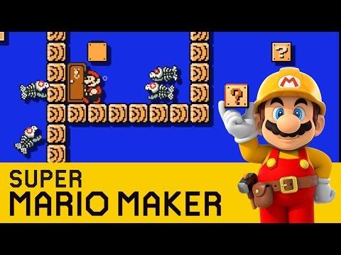 Super Mario Maker - Dangerous Depths