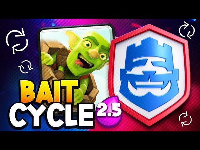 20 WIN 2.5 LOG BAIT CYCLE DECK?! ARE YOU KIDDING ME?