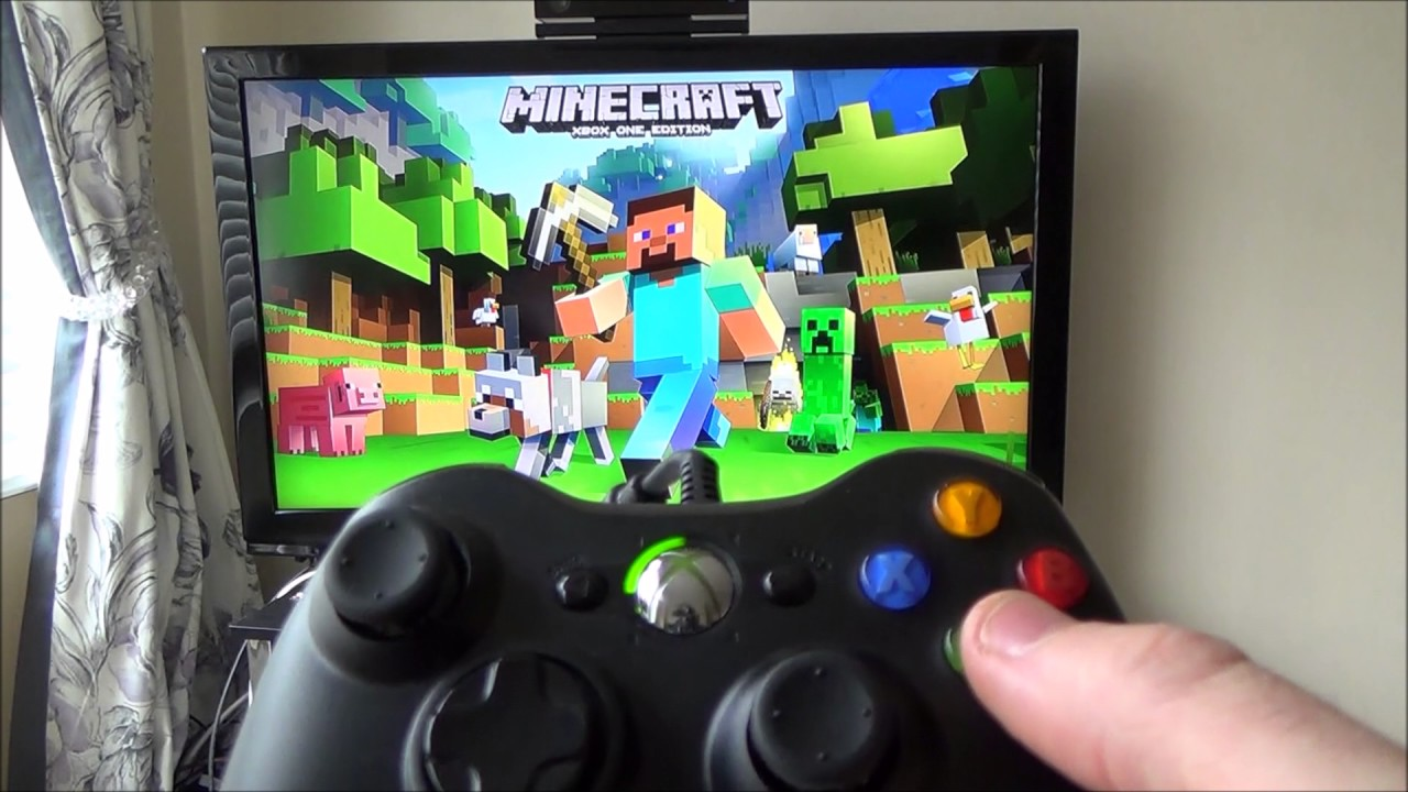 How To Use A Xbox 360 Controller On A Xbox One Youtube